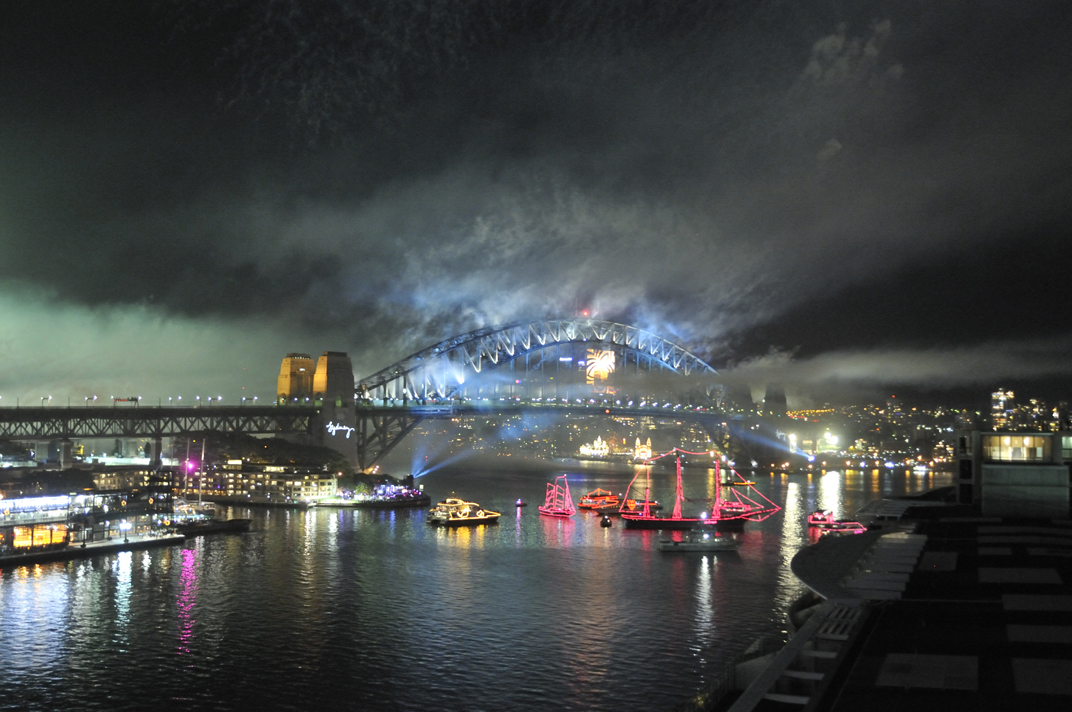 Smoke On The Water: New Year's Eve 2012 On Sydney Harbour