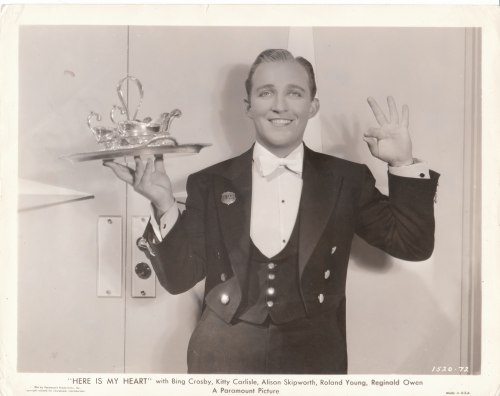 Bing Crosby in Here Is My Heart (1934)