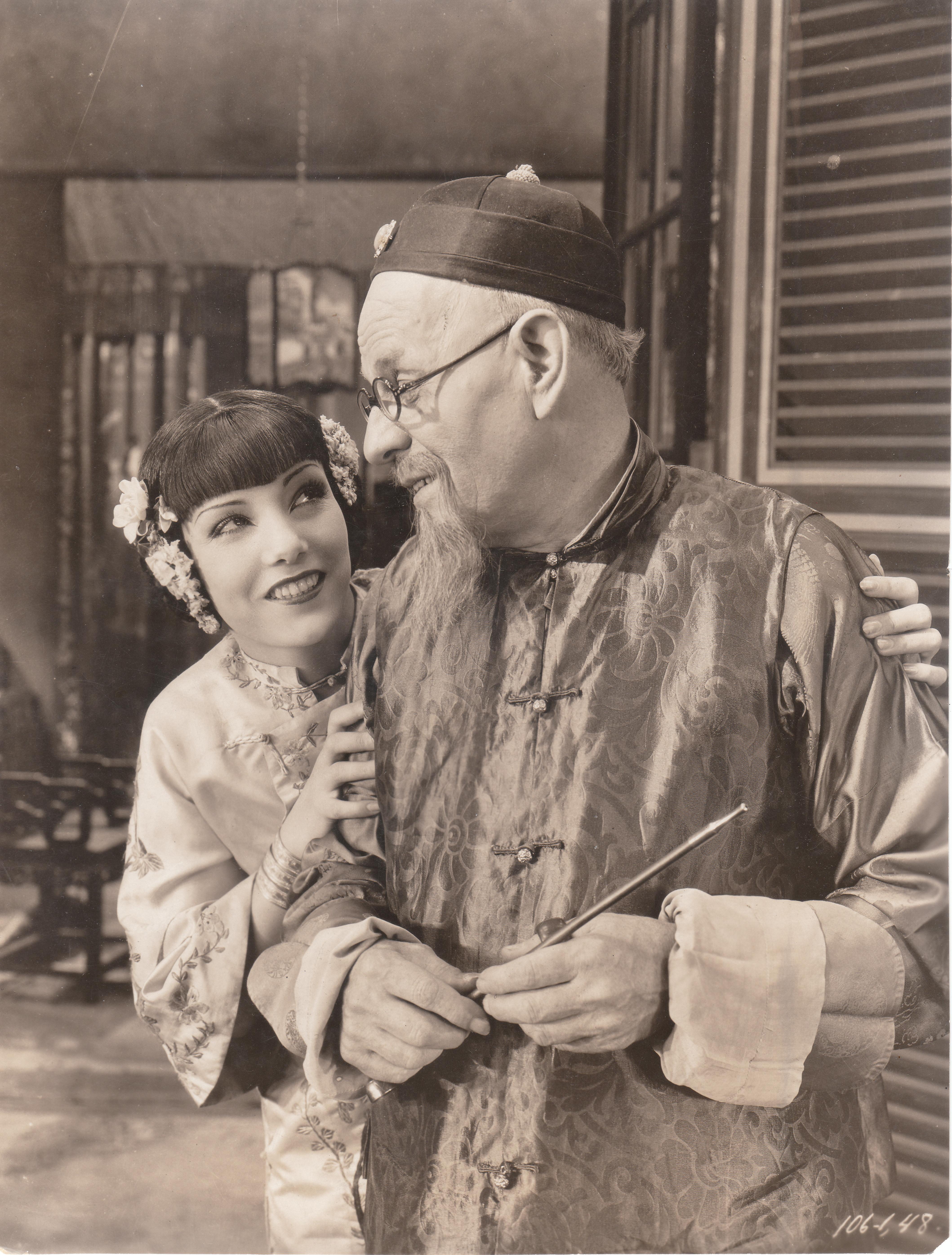 With E. Alyn Warren in East Is West (1930)