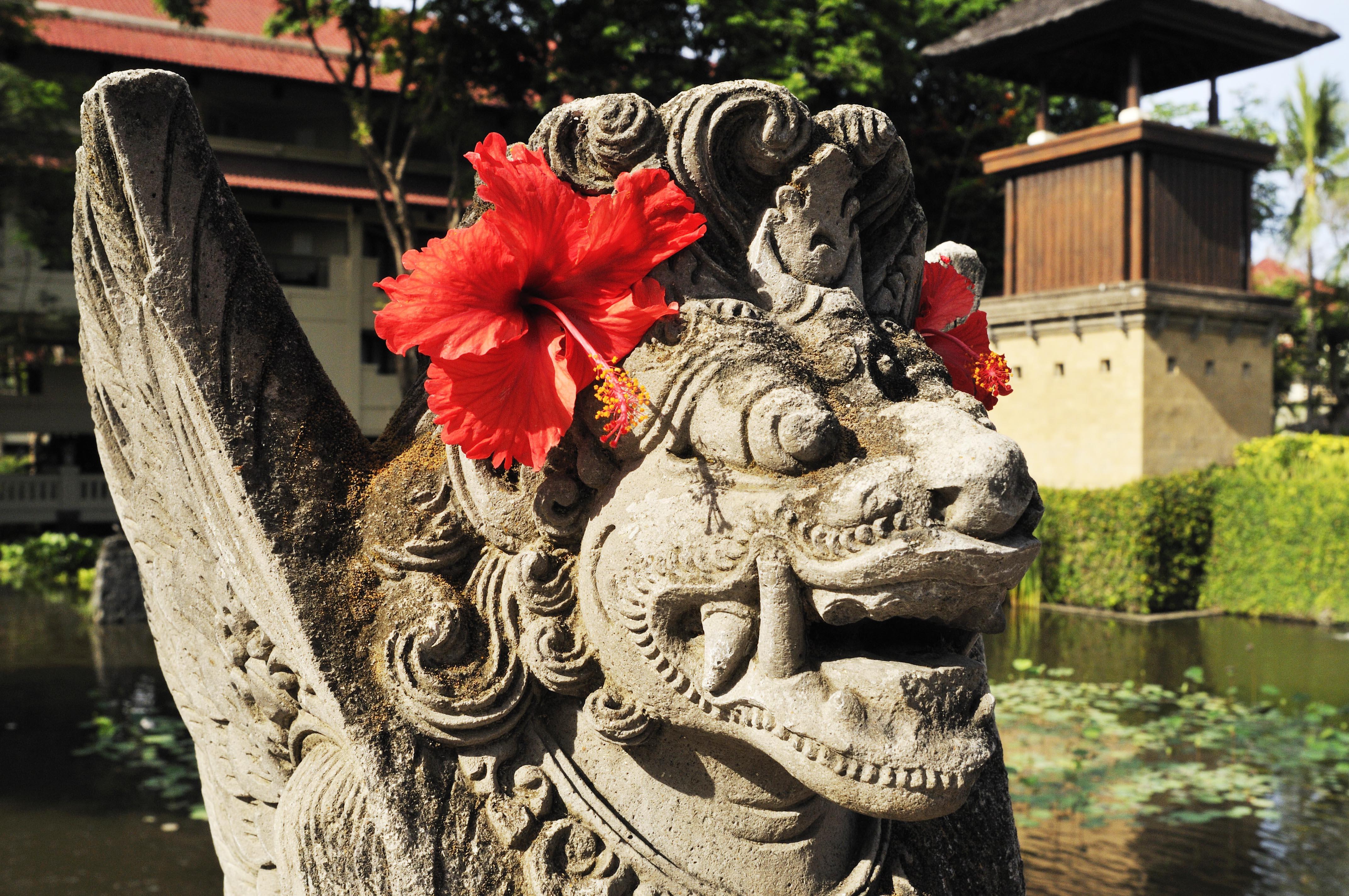 Balinese culture meets modern tourism