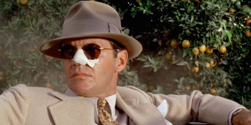 Jack Nicholson in Chinatown